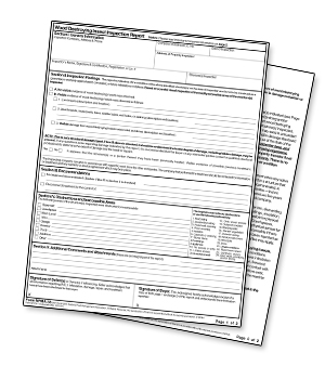 Pest Inspection CT Form NPMA-33